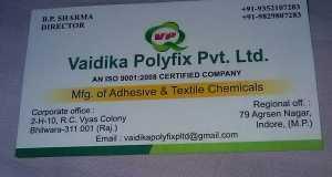 Vaidika Polyfix Pvt Ltd