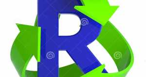 d-recycle-arrows-render-green-surrounding-letter-r-41532907